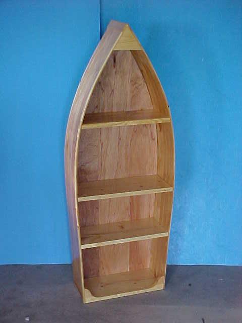 Handmade Boat Shelves